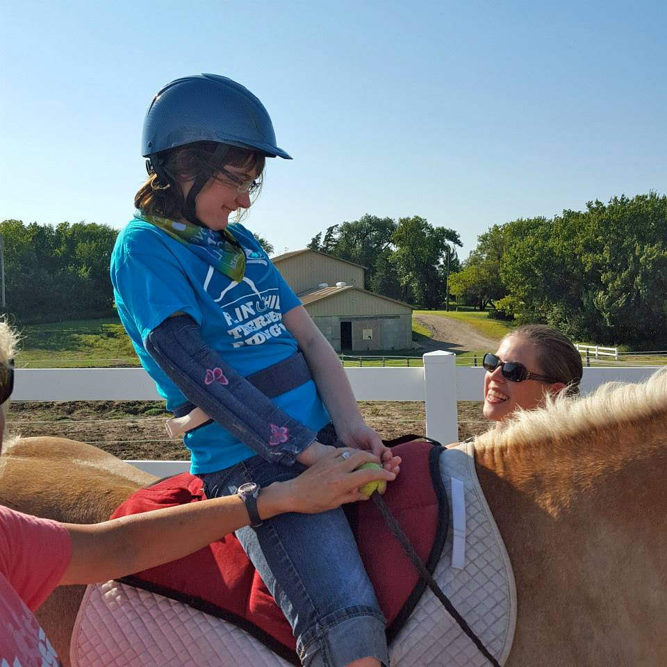 Therapeutic riding creates smiles