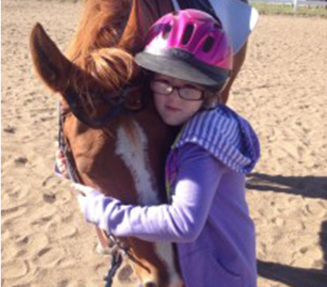 ellie therapeutic riding